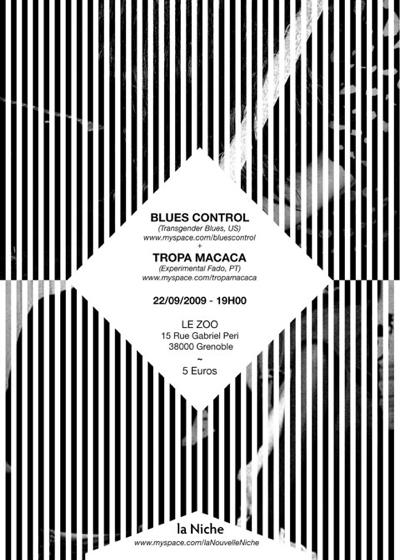 Blues Control + Tropa Macaca