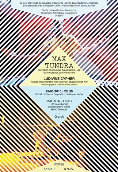 Max Tundra + Ludivine Cypher