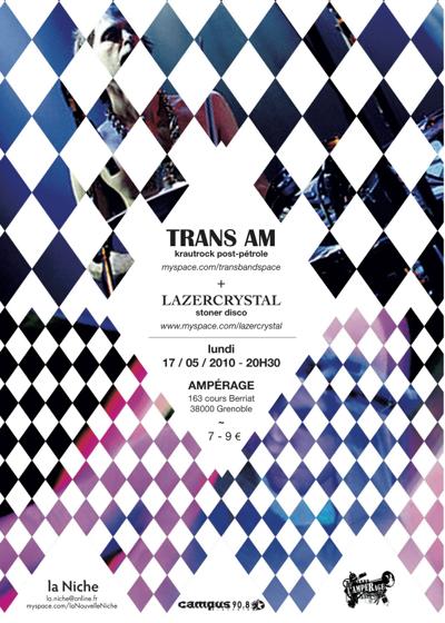 Trans Am + Lazer Crystal