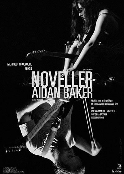 Noveller + Aidan Baker